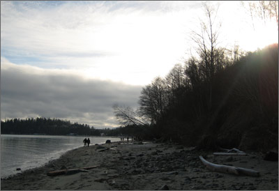 Kye Bay, January 1, 2011