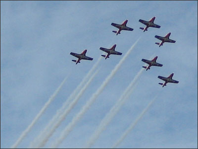 Canadian Snowbirds in Kye Bay